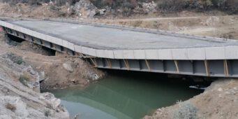 В Турции мост обрушился еще до ввода в эксплуатацию