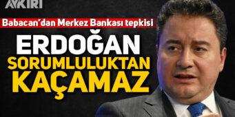 Бабаджан: Эрдоган не избежит ответственности, даже если сменит главу Центробанка