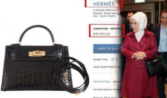 Попытки оправдать президентский дворец: Дорогостоящие сумочки жены Эрдогана – подделка