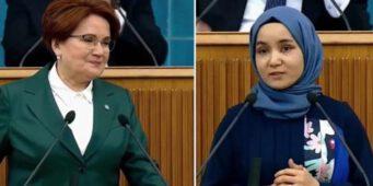Турецкий парламентский телеканал TBMM TV прекратил трансляцию после того, как Акшенер пригласила уйгурку на трибуну