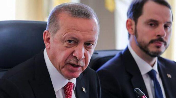 Reuters: Эрдоган заступился за Албайрака после чего лира остановилась в росте