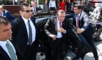 Сотрудник службы охраны президента Эрдогана совершил самоубийство