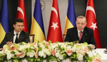 Эрдоган направил военных на Украину?