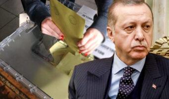 Партии Эрдогана и Бахчели теряют голоса