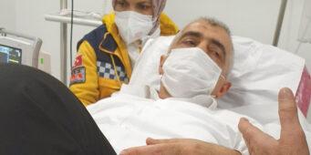 Правозащитника Гергерлиоглу продержали два дня в отделении реанимации, закованным в наручники