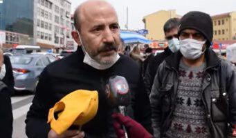 Житель Анкары обвинил Эрдогана в провале экономики