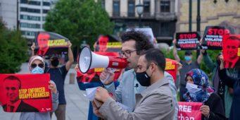 Митинг в поддержку Орхана Инанды прошел в Норвегии