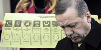 Поддержка ПСР ниже 30%, а у Эрдогана не осталось шансов победить на следующих президентских выборах