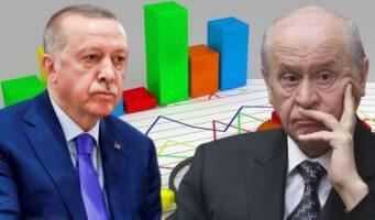 Политический альянс Эрдогана и Бахчели стремительно теряет поддержку