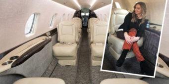 Жена чиновника ПСР использовала конфискованный режимом Эрдогана самолет для поездок на маникюр