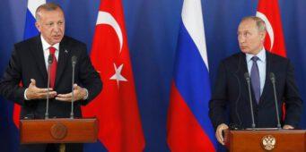 Эрдоган Путину: Мы продолжим управлять аэропортом Кабула