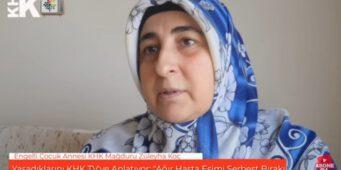 Отчаявшаяся женщина, заботящаяся о сыне-инвалиде, просит освободить больного мужа из тюрьмы