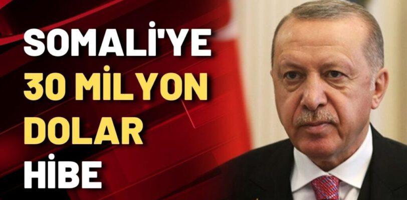 Турция выделила Сомали 30 млн долларов, несмотря на дефицит средств для тушения пожаров